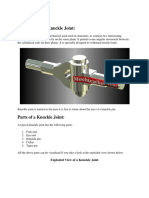 Knuckle   Cotter joint.docx