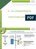 03.Conception Structure Porteuse