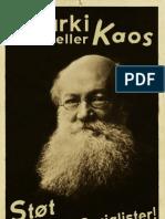 Anarki eller kaos - LS plakat