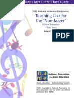 Teach Jazz