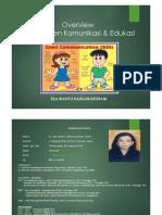 Overview Manajemen Komunikasi Edukasi