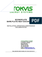 Bare Plate Heat Exchanger IO