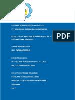 Kegiatan Docking dan Reparasi Kapal di PT. Adiluhung Sarana Segara Indonesia