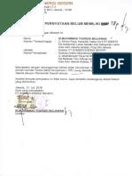 Surat Pernyataan TDP