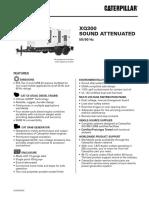 Data sheet grupo generador tipo rental de 300 KVA XQ300
