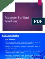 Program Sanitasi Jamban