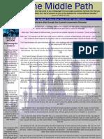 """Al-Jalal Masjid """"The Middle Path"""" October 2010 Newsletter"""