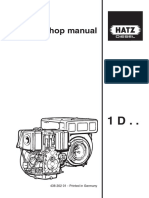 Hatz 1D Repair Manual