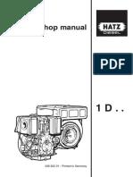 Hatz 1D Repair Manual