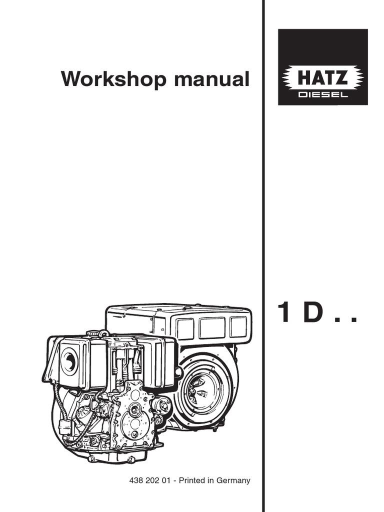 hatz 4l41c diesel workshop manual