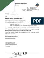 Surat Jemputan Sebgai Jurugambar Rasmi Lawatan EKSA 2016