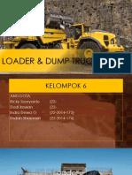 Loader & Dump Truck