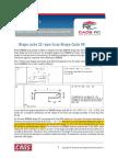 Deduction for Standard Radius 90degree Bend