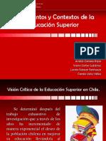 Critica a la Educación Superior Chilena