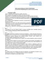 Privind Sistemul de Credite Transferabile Pentru Studii de Licență Și Master . HS 19 Din 20.03.2013.
