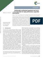 RGO@Fe3O4 Paper