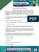 Evidencia 7 Afiche Mision Vision y Valores Corporativos