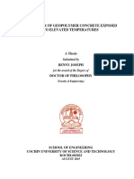 BEHAVIOUR OF GEOPOLYMER CONCRETE EXPOSED