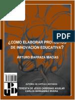 COMO ELABORAR PROYECTOS DE INNOVACIÓN.pdf