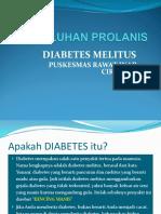 261684188 Penyuluhan Prolanis Diabetes Ppt