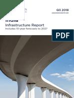 India Infrastructure Report - Q3 2018