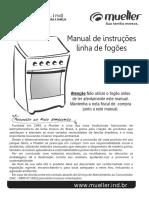 Mueller - Manual Linha de fogões