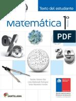 Matemática 1º medio-Texto del estudiante