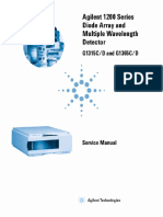 Agilent 1200 Series Diode Array and Multiple Wavelength Detector