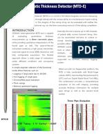 GOWell MTD-E Plus Prodcut Sheet A4 2016