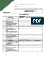 Lista Chequeo -Clientes