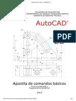 Apostila de Comandos Basicos AutoCad 2016 2D.pdf