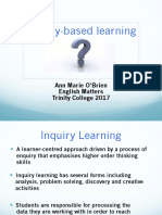 inquiry-based learning powerpoint summer 2017
