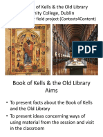 book of kells   old library ppt
