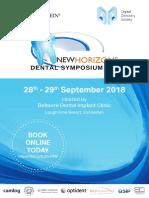 New Horizon Dental Symposium