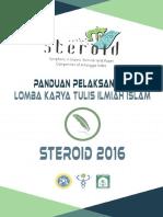 Panduan Pelaksanaan Lktii Steroid 2016