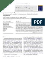 Nanoparticulas de Hierro Remocion de Arsenico Ingles