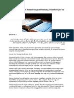Contoh Khutbah Jumat Singkat tentang Nuzulul Qur.doc