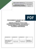 Sso-pets.02.27 - Demarcacion de Puntos Para Perforacion Primaria 2015 r