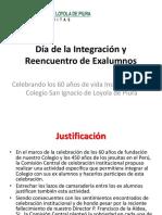 Reencuentro Ex Alumnos