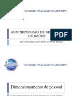 Administração de Serviços de Saúde