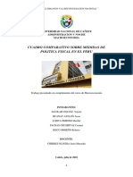 MEDIDAS DE POLITICA FISCAL MACROECONOMIA