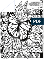 Coloring 1 Butterfly