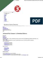 Advanced Port Scanner 13