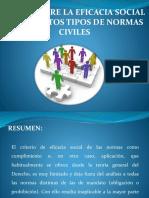 Eficacia Social Del Derecho