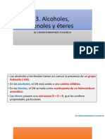 Clase 2 Alcoholes Fenoles Eteres 2017-II