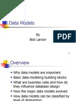 - Data Models
