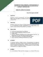 d. Leg. 1267- Ley de La Pnp