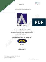 AB.cp.DC.002 Manual de Mantenimiento SDI - T77