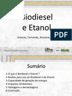 Biodiesel e etanol