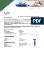 Cotizacion Planta de Tratamiento de Agua. Ing. David Maraz (1)